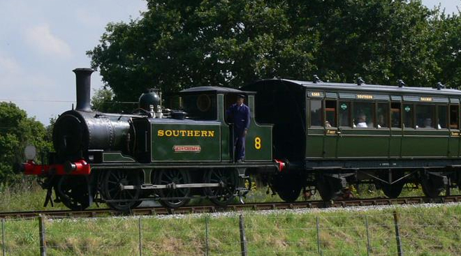 Foto: The Isle of Wight Steam Railway