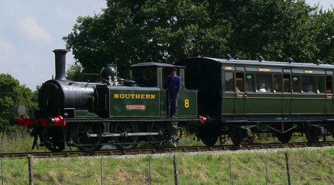 Foto: The Isle of Wight Steam Railway
