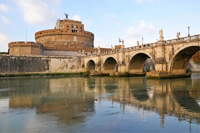 Rome: Engelenburcht - Foto: Dennis Jarvis (Flickr)
