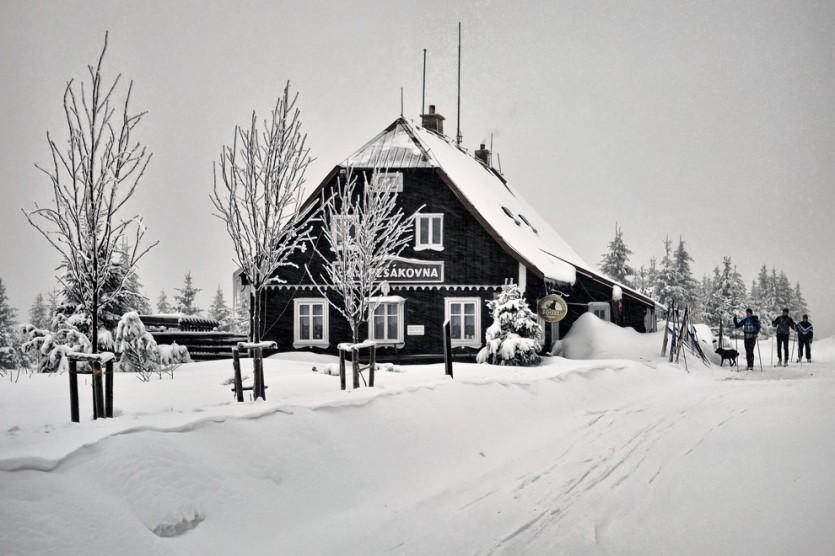 Wintersport Tsjechie - foto:  Szymon Nitka (Flickr)